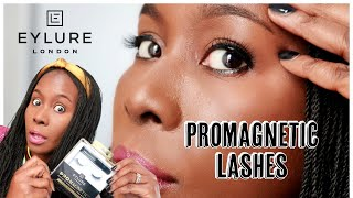 NO GLUE LASHES | EYLURE PROMAGNETIC EYELINER LASHES | IS THIS A GAME CHANGER? | ISOWA GALLERY