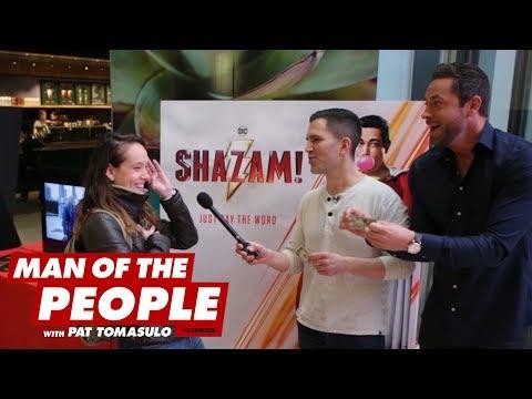 """Zachary Levi And Pat Surprise """"Shazam"""" Fans"""