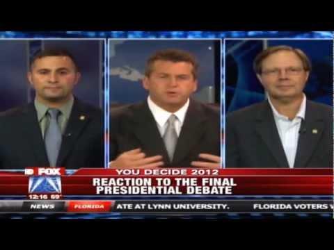Darren Soto debates final Presidential debate with Scott Plakon