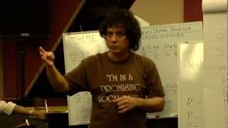 Zakir Hussain Workshop: Session 1 led by Zakir Hussain