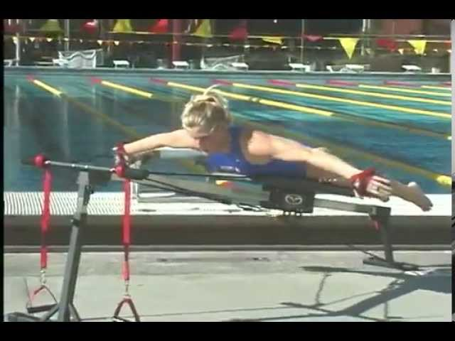 Elite Swimmers on Using the Vasa Trainer to Improve High Elbow Catch and Swim Strength