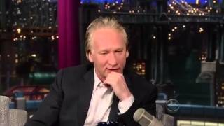 Bill Maher on Letterman   Full interview 16 July, 2013]