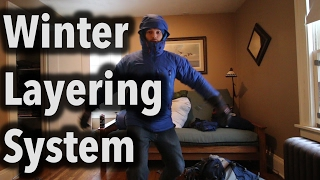 My Winter Backpacking Layering System