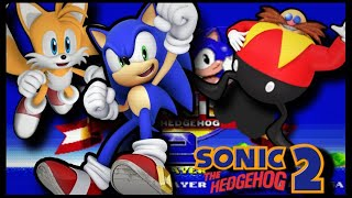 SONIC AND TAILS PLAY SONIC THE HEDGEHOG 2 PART 2 EGGMANS BALLS!