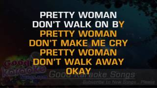 Oh Pretty Woman - Van Halen ( Karaoke Lyrics )