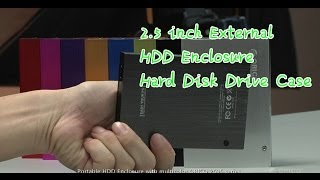 2.5 inch External HDD Enclosure Hard Disk Drive Case