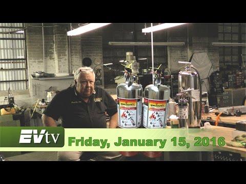 EVTV Friday Show - January 16, 2016