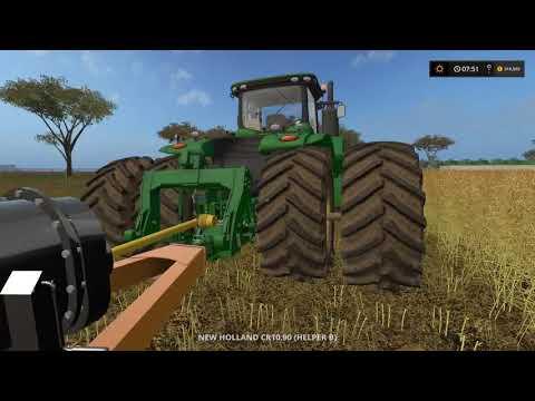 Farming simulator 17 Timelapse Australian x16 Map Broad acres Ep#1