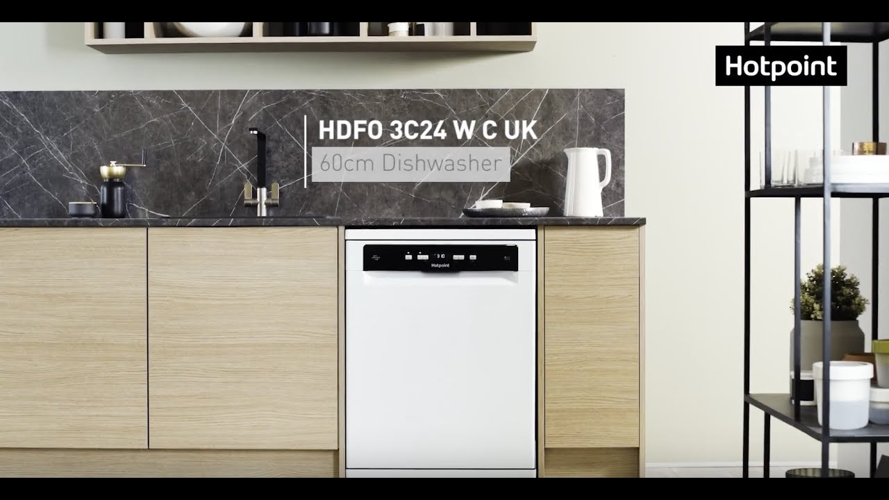 Hotpoint Dishwasher Error Codes-Troubleshooting,Problems,Manuals