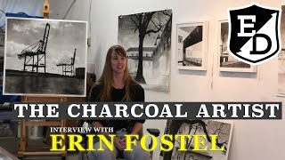 The Charcoal Artist-Erin Fostel