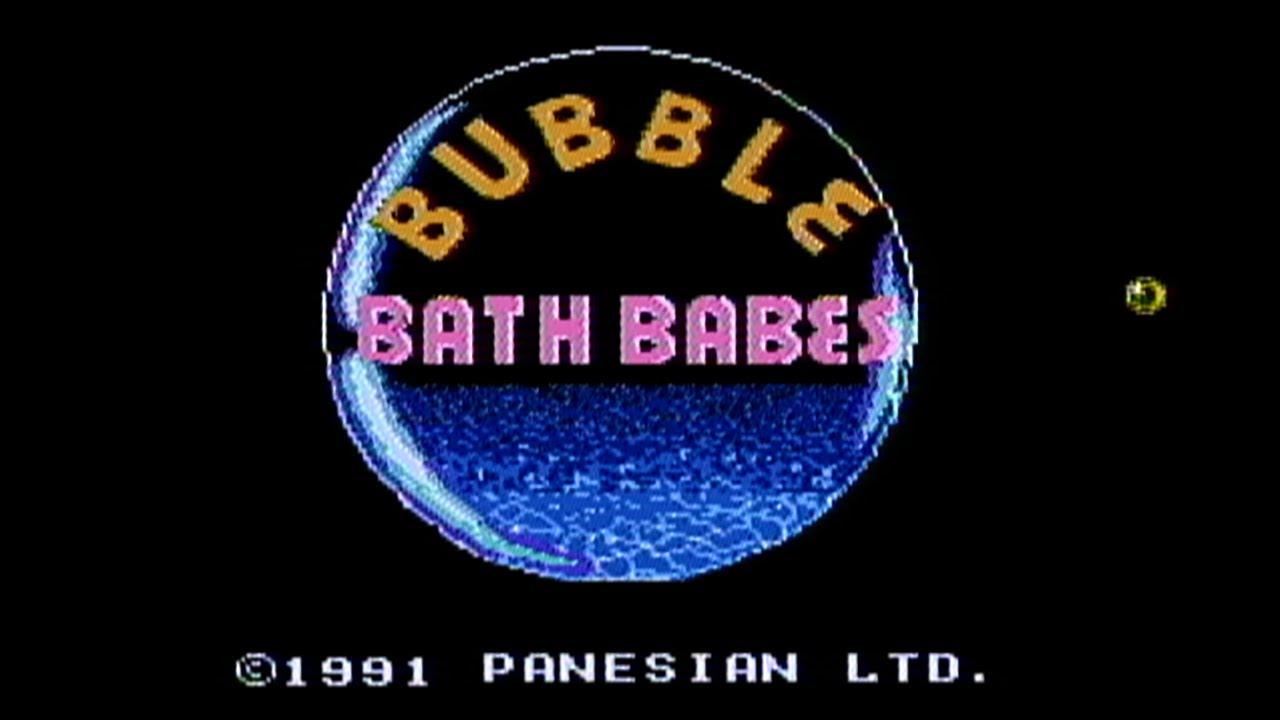 bubble bath babes nes