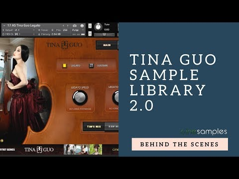 Behind the Scenes: Tina Guo Sample Library 2.0