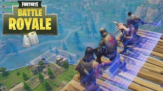 Fortnite Battle Royale - Failed Stairway to Heaven Funny Moments!