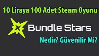 10 LİRAYA 100 TANE STEAM OYUNU   BundleStars Nedir?