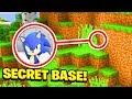 Minecraft : We Found SONICS SECRET BASE! (Ps3/Xbox360/PS4/XboxOne/PE/MCPE)