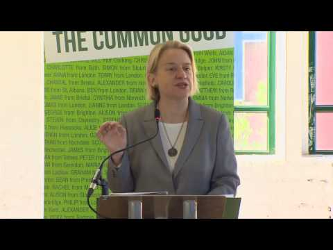 Natalie Bennett introduces the 2015 Green Party Manifesto