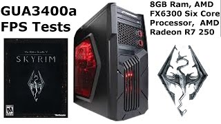 CyberPowerPC Gamer Ultra GUA 3400a Skyrim V Remastered FPS Tests (Skyrim V Benchmarks)