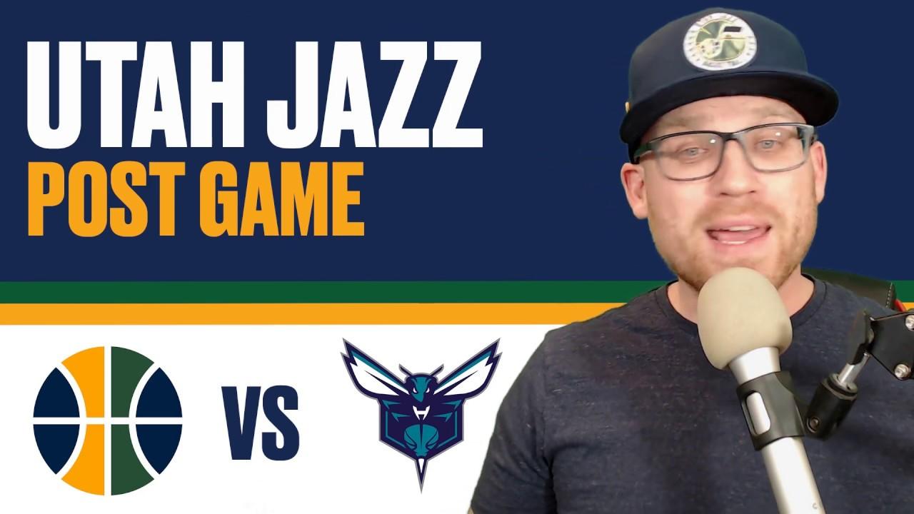 1ea54d56bf96 Utah Jazz vs Charlotte Hornets Post Game Reaction - Kyle Korver and Jae  Crowder explode!