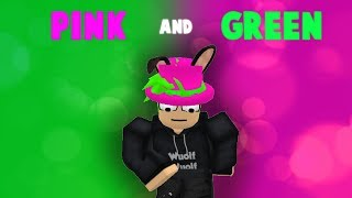 [ROBLOX Music Video] Pink and Green - Roy Purdy