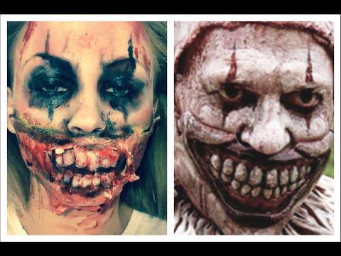 American Horror Story: Freak Show Clown Inspired Makeup