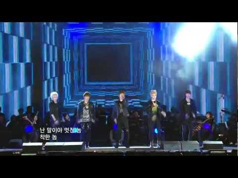 111022 - SHINee - Ring Ding Dong @ KBS New York - Korea Festival