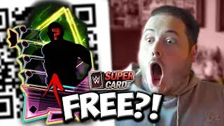 A FREE FUSION QR CODE?! First NEON Fusion! | WWE SuperCard