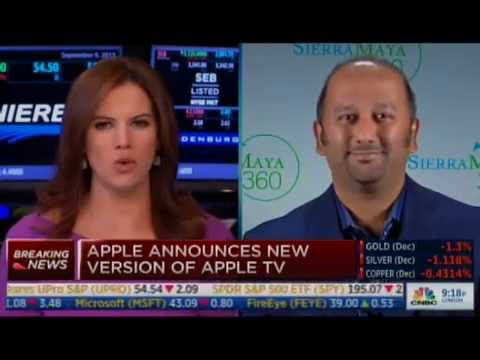 Amish Shah Discusses New Apple Updates on CNBC's Closing ...