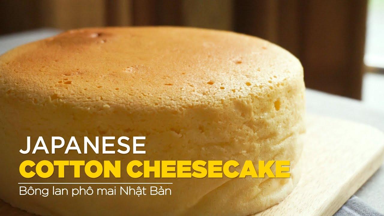 Japanese Cotton Cheesecake – Bông Lan Phô Mai Nhật Bản | Bakez – Baking Tutorials and Recipes