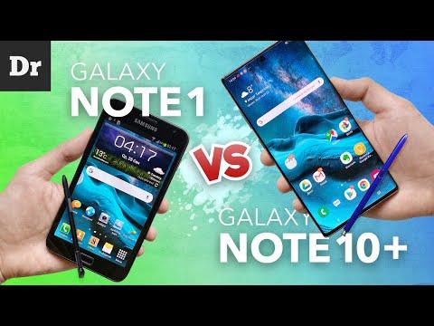 Galaxy Note (2011) Vs Note 10 Plus: ЧТО ИЗМЕНИЛОСЬ?