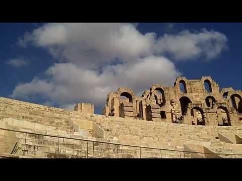 HD video filmed in El Djem (El Jem) at this wonderful Roman amphitheatre in Tunisia