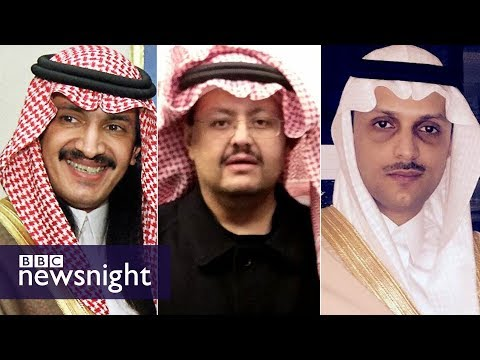 Saudi Arabia's missing princes - BBC Newsnight