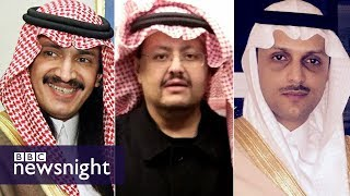 Saudi Arabia\'s missing princes - BBC Newsnight