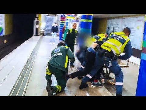 Ordningsvakt BITEN i Tunnelbanan | STORYTIME