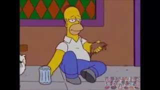Homer Dancing Pumped Up Kick