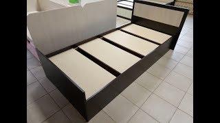 Сборка кровати фиеста 0,9 от фабрики БТС
