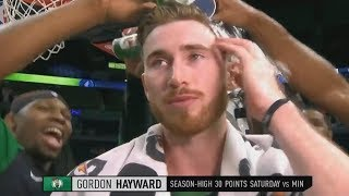 Gordon Hayward EMOTIONAL GAME After Injury That Almost Ended His Career! Celtics vs Timberwolves thumbnail