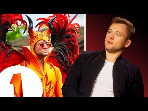 'Elton is very naughty!' Rocketman's Taron Egerton on flying, floating and channelling Elton John.