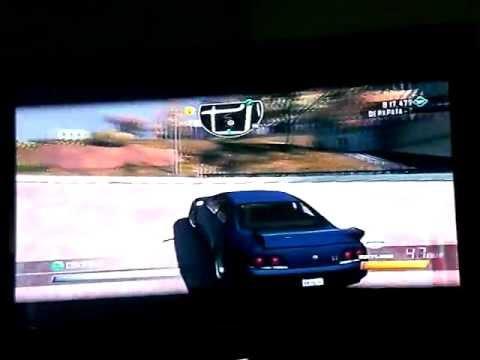 Driver San Francisco: skyline drifting gameplay (Xbox 360)