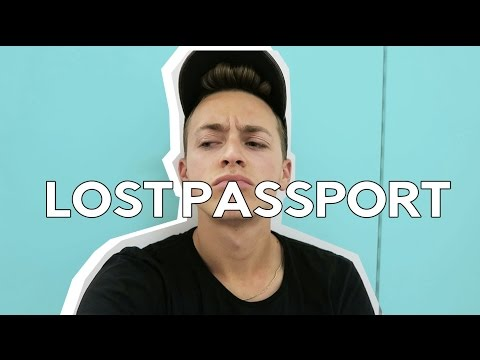 LOSING MY PASSPORT IN THE AIRPORT...IN CHINA 😩