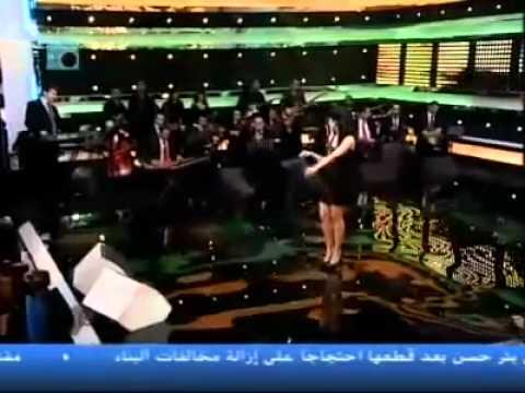 Rahma Riyad Interview kalimat wa 2al7an  on Future TV Part 2.flv