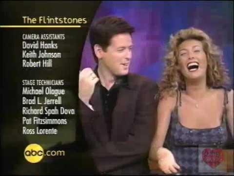 ABC Sitcom Promo Over The Flinstones Credits 1997
