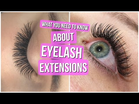 EYELASH EXTENSIONS 101 // Everything you NEED to know!