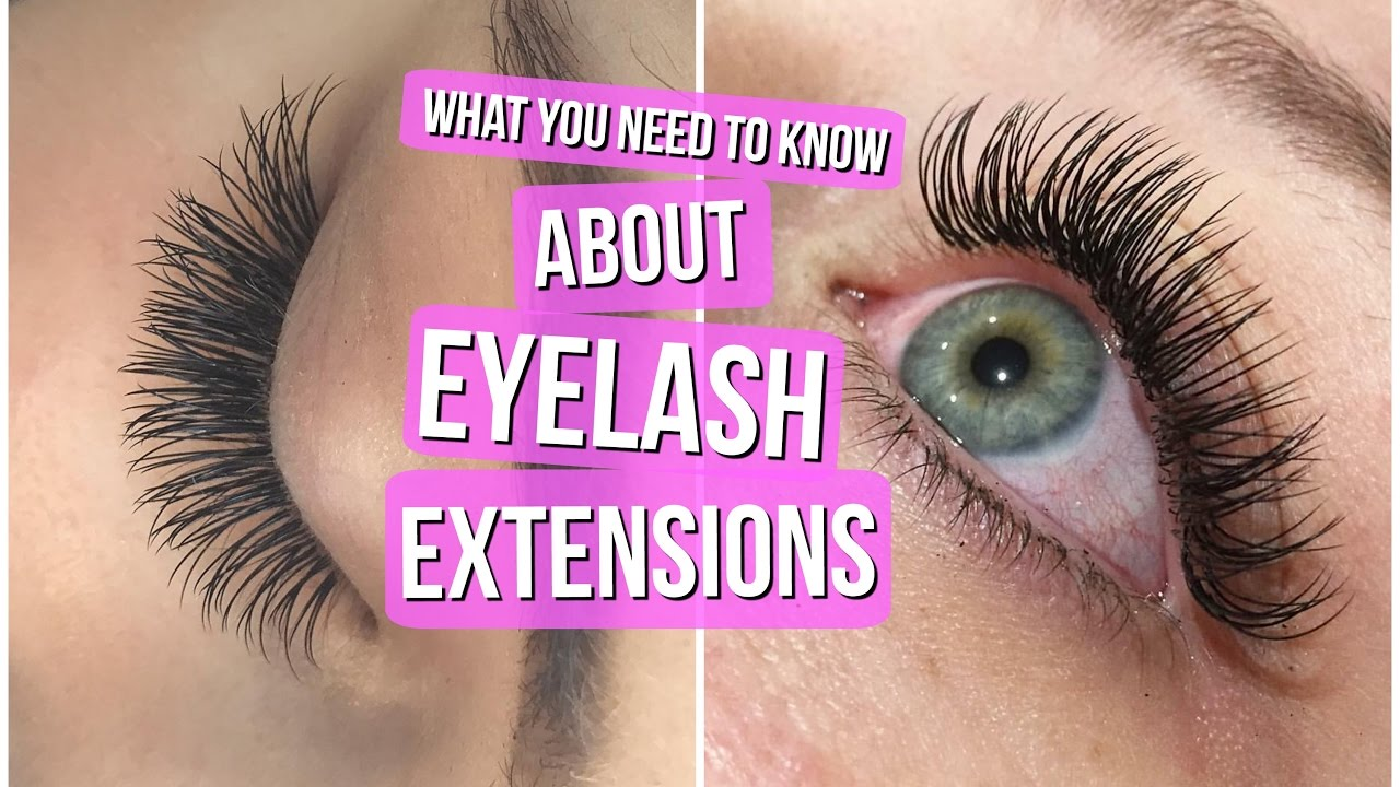 11322edfa2b EYELASH EXTENSIONS 101 // Everything you NEED to know! - YouTube