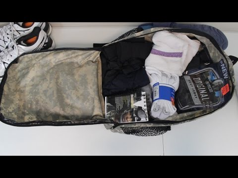 What I'm packing for Army BCT