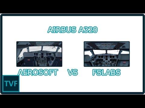 [P3Dv3.4] Airbus A320X Fslabs Vs Aerosoft