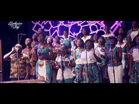 "Joyful Way sings ""There is a Redeemer"" recorded live at ""Explosion of Joy 2015"""