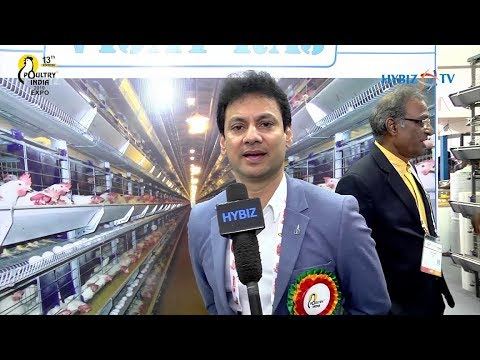 Vijay Raj Poultry Equipments Director Uday Singh | Poultry India Exhibition 2019 Hyderabad