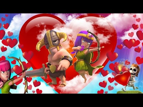 CLASH OF CLANS - ARCHERS LOVE BARBARIANS!