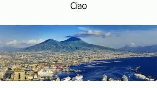1 Первый урок итальянского языка. Произношение