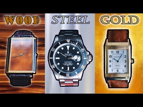 The Best Watches In Gold, Steel, Silver, Titanium, Bronze, And MORE!